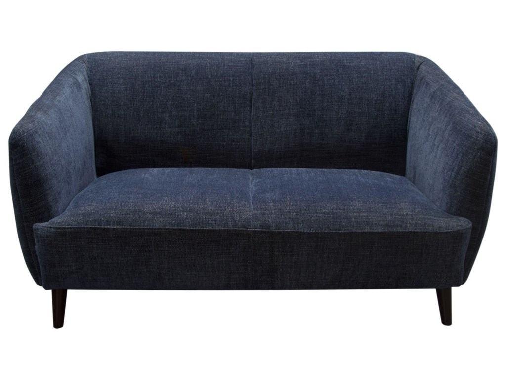 Diamond Sofa De LucaLoveseat