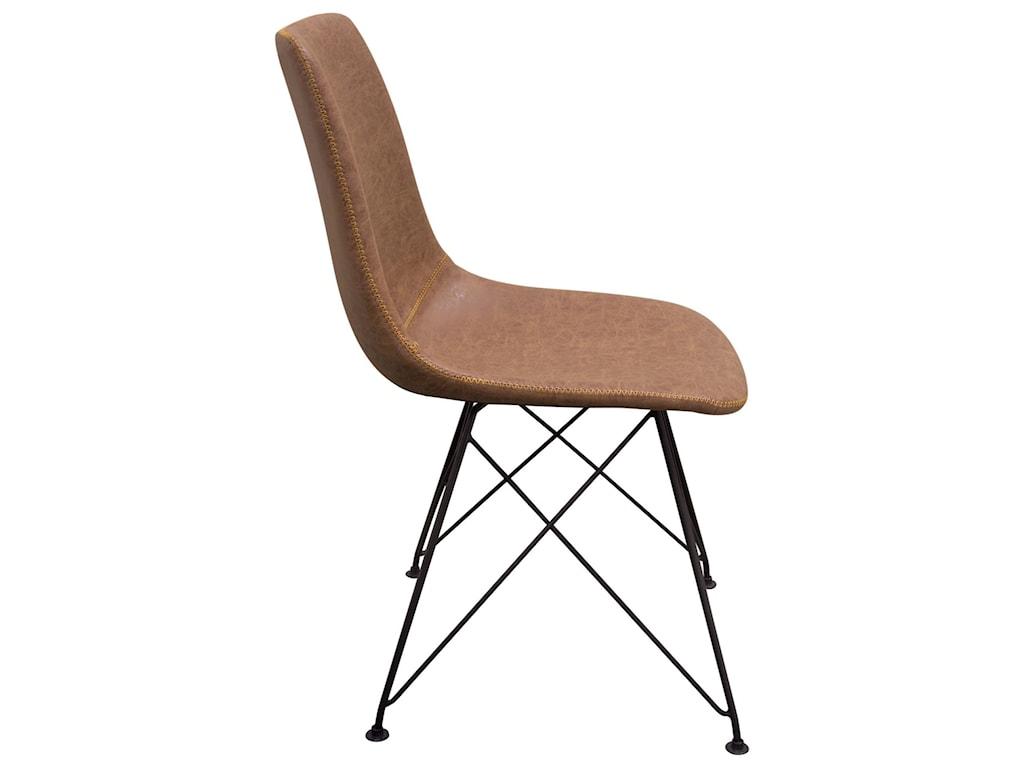 Diamond Sofa TheoSet of Four Dining Chairs