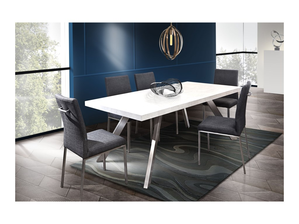 Diamond Sofa Dining RoomCarrera Dining Table