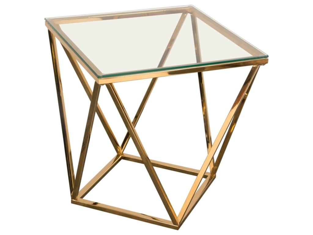 Diamond Sofa GemEnd Table