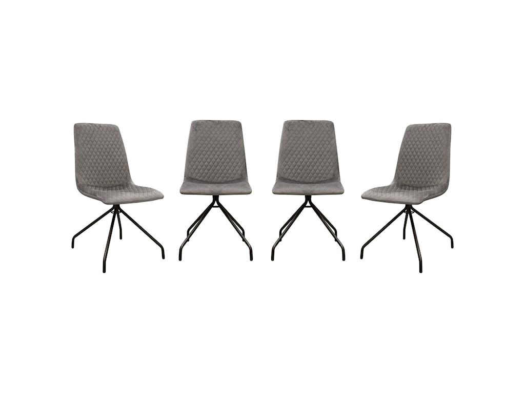 Diamond Sofa IvySet of Four Dining Side Chairs