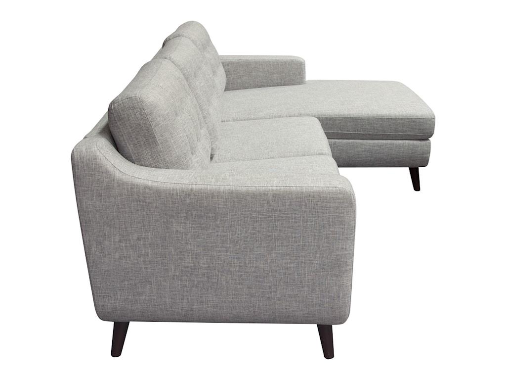 Diamond Sofa JordanaSectional