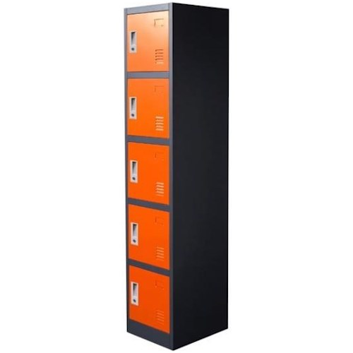 Diamond Sofa Lockers 5 Door Locker