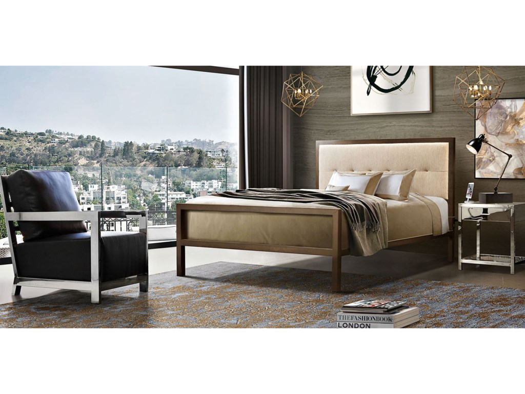 Diamond Sofa London California King Bed