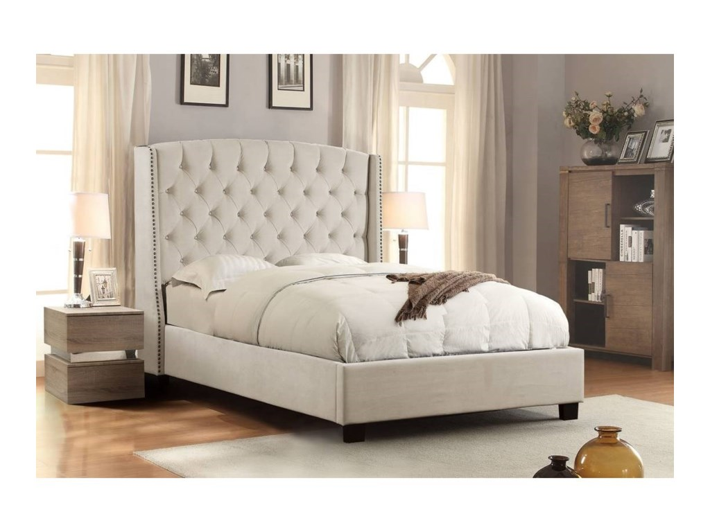 Diamond Sofa MajesticKing Bed
