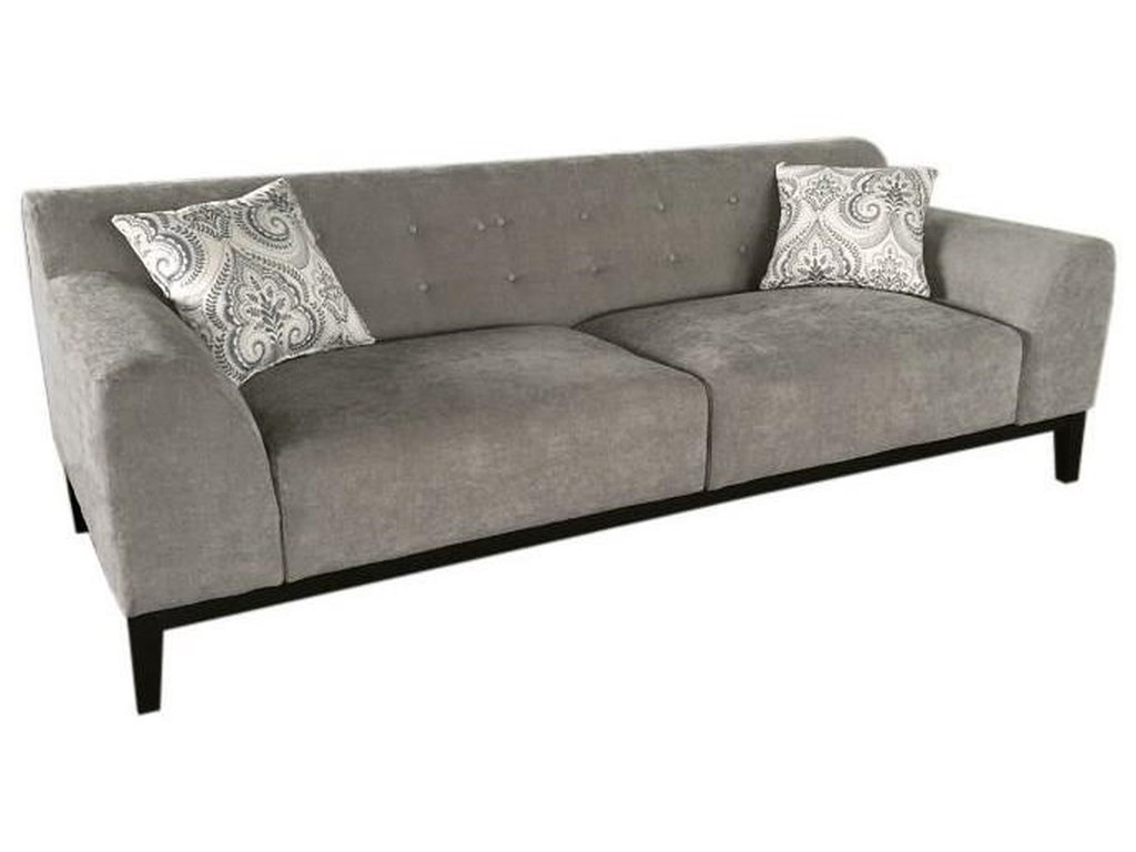 Diamond sofa marqueetufted back sofa