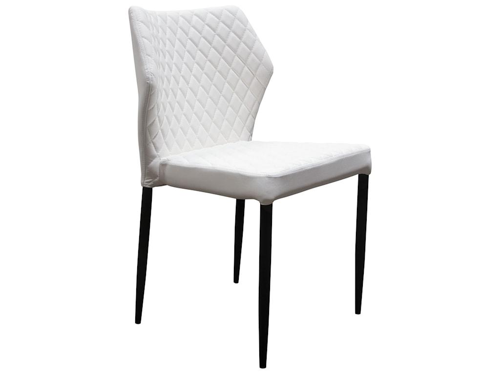Diamond Sofa MiloSet of Four Dining Side Chairs