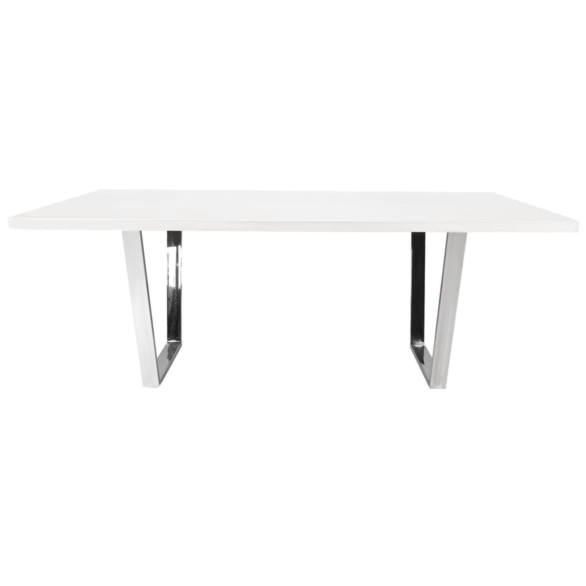 diamond sofa mirage dining table red knot dining tables rh redknothawaii com Rectangular Dining Table Jofran Dining Table
