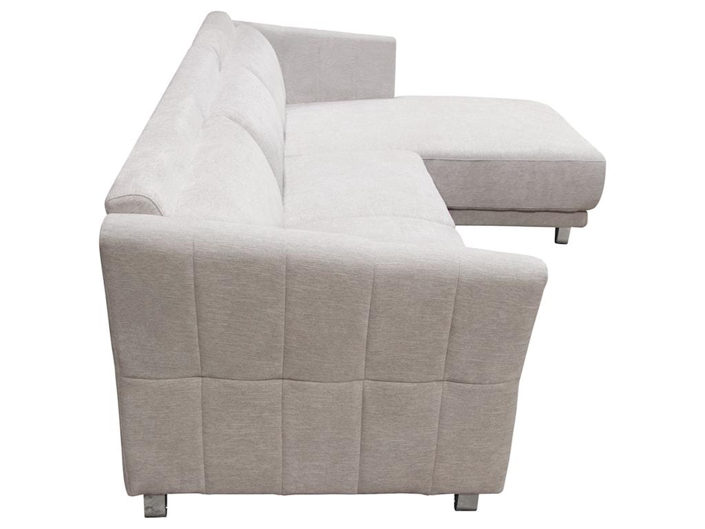 Naomi Sectional By Diamond Sofa