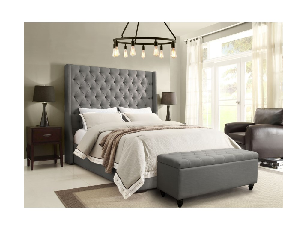 Diamond Sofa Park AveQueen Bed
