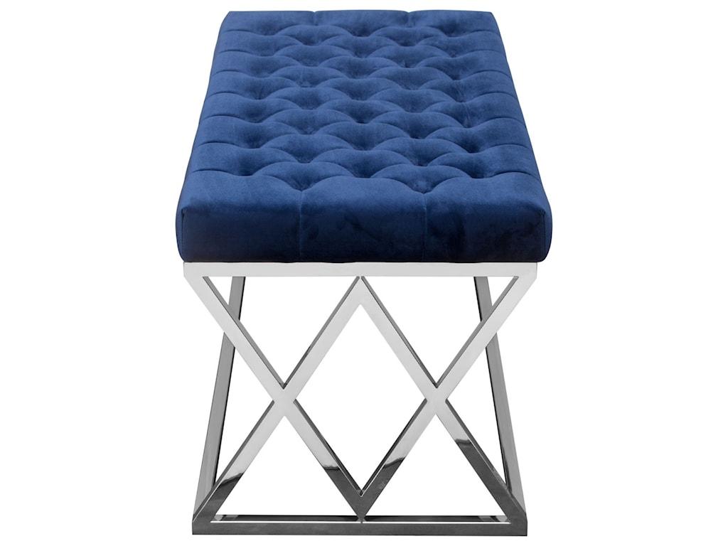 Diamond Sofa VixenAccent Bench