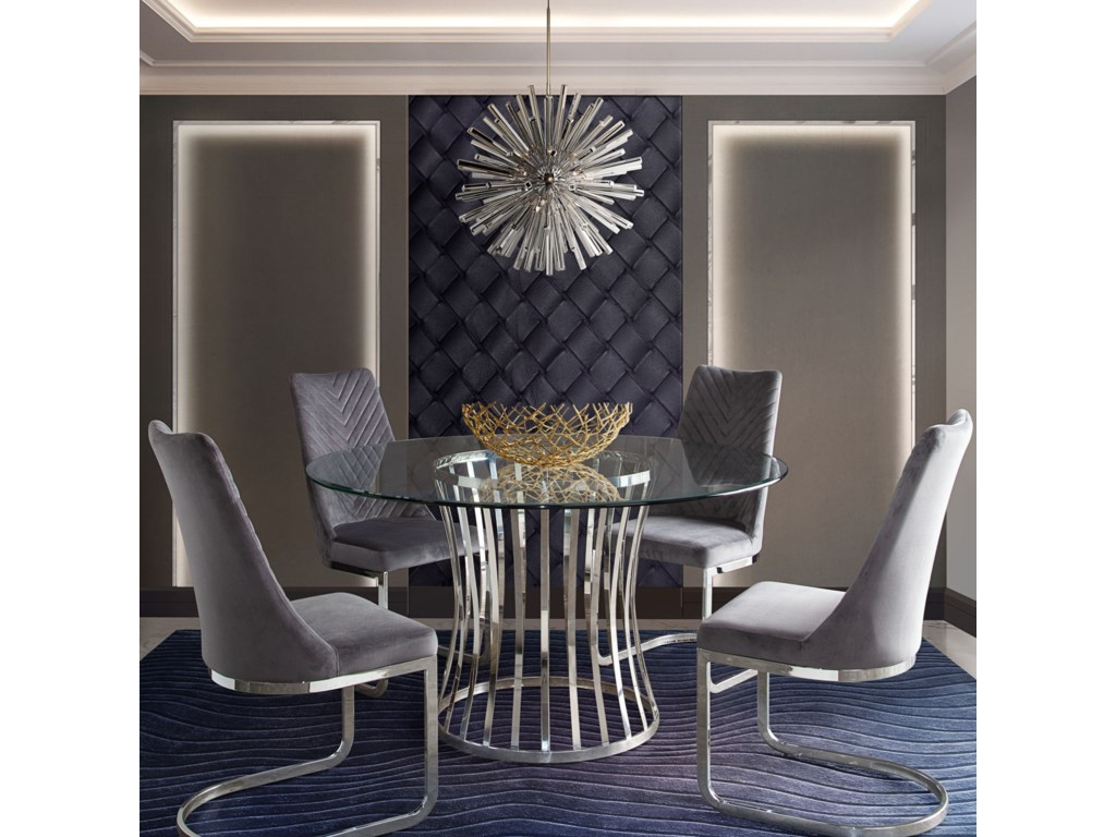 Diamond Sofa VogueSet of Four Dining Chairs