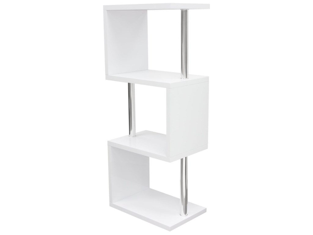 Diamond Sofa X-SeriesSmall Shelving Unit