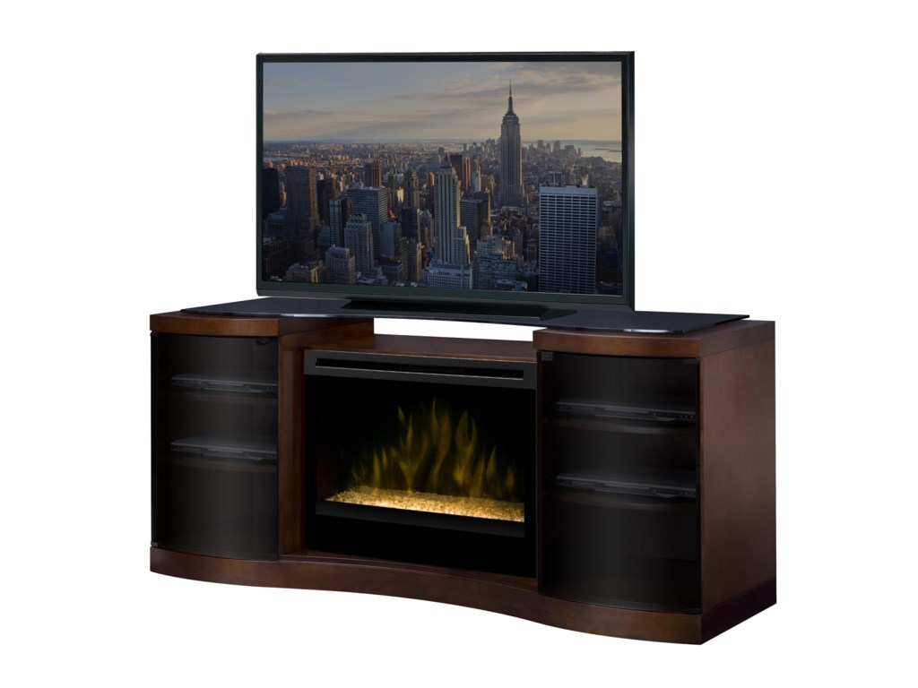 Dimplex ActonMedia Console with Electric Firebox