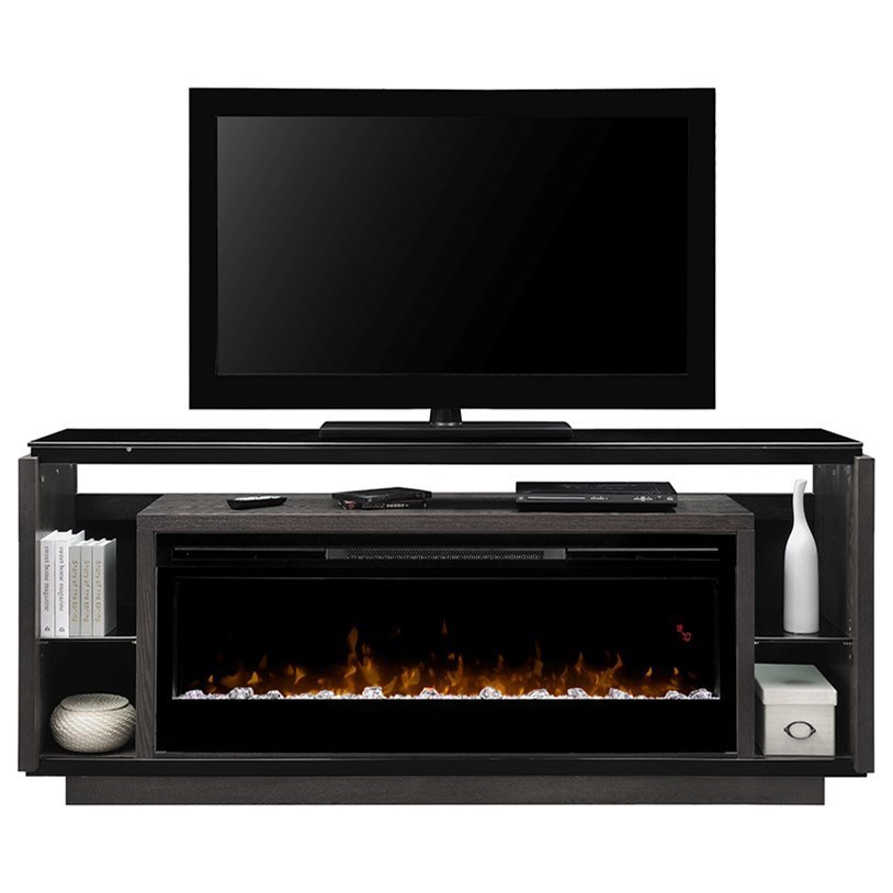 Dimplex David Gds50g5 1592sm 74 Electric Fireplace And T V Stand