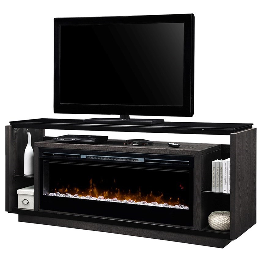Dimplex David 74 Electric Fireplace And Tv Stand Colders