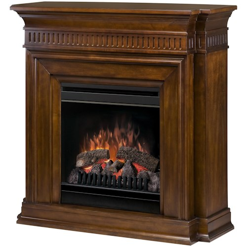 Dimplex Flat-Wall Fireplaces Troy Electric Fireplace