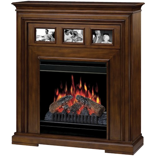 Dimplex Flat-Wall Fireplaces Acadian Electric Fireplace