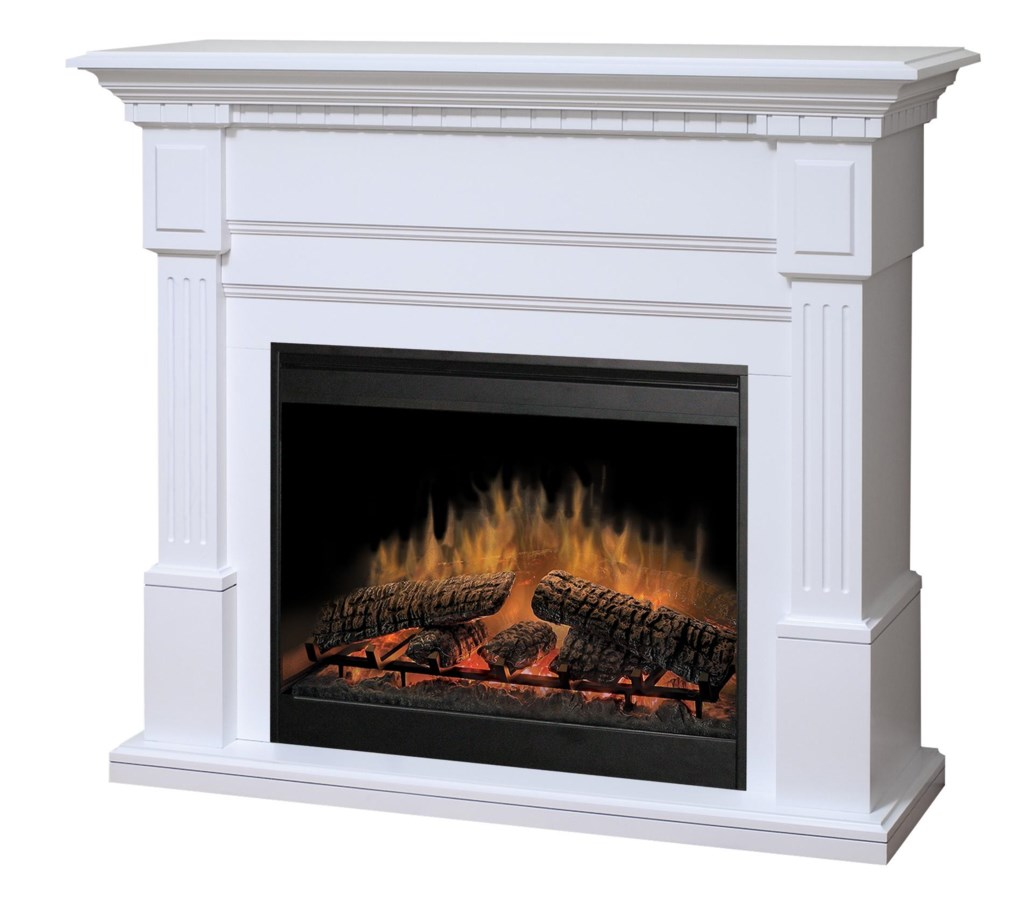 Dimplex Flat Wall Fireplaces Gds30 1086w Essex White Electric