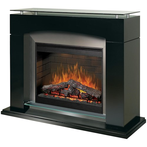 Dimplex Flat-Wall Fireplaces Laguna Flat-Wall Electric Fireplace