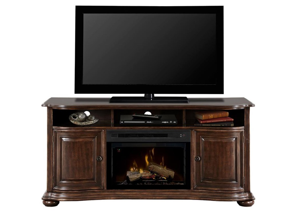 Dimplex Henderson DimplexMedia Console with Electric Firebox