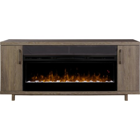 Media Console Fireplace