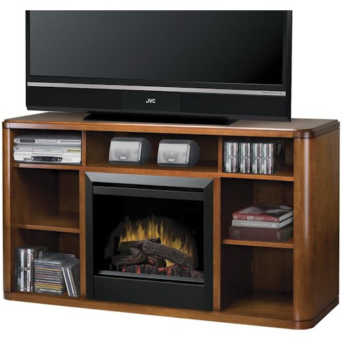 Dimplex Media Console Fireplaces Logan Media Console Fireplace
