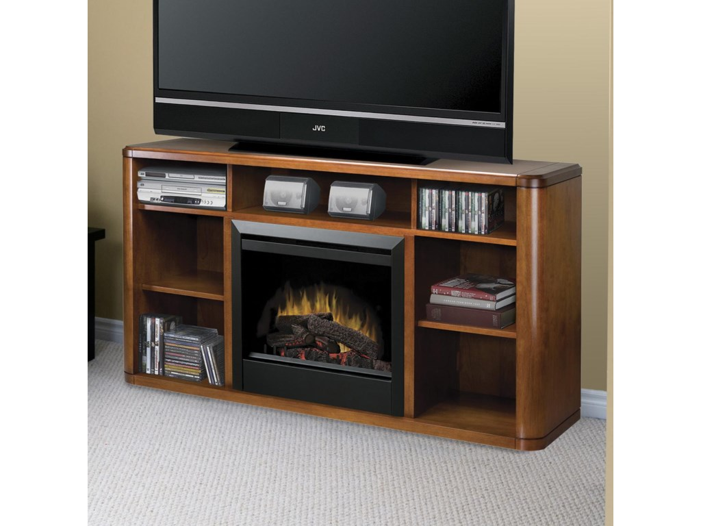 Dimplex Media Console FireplacesLogan Media Console Fireplace