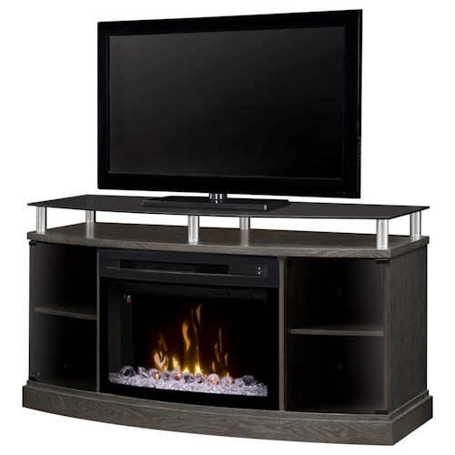 Dimplex Media Console Fireplaces Windham Media Console w/ Electric Fireplace