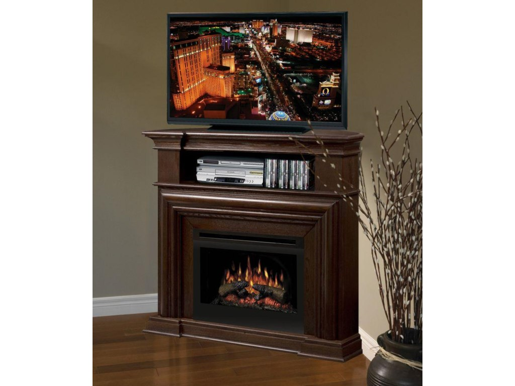Dimplex Media Console FireplacesMontgomery Corner Media Console Fireplace