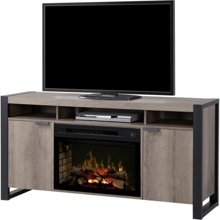 Pierre Media Console Fireplace