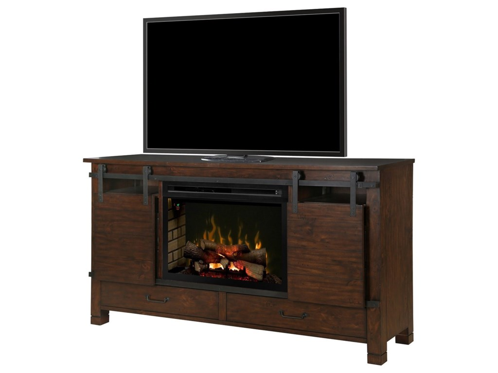 Dimplex Media Console FireplacesAustin Media Mantel Fireplace