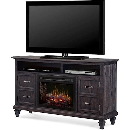 Media Console Fireplace