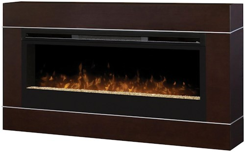 Dimplex Wall Mount Fireplaces Complete Synergy Wallmount with Trim