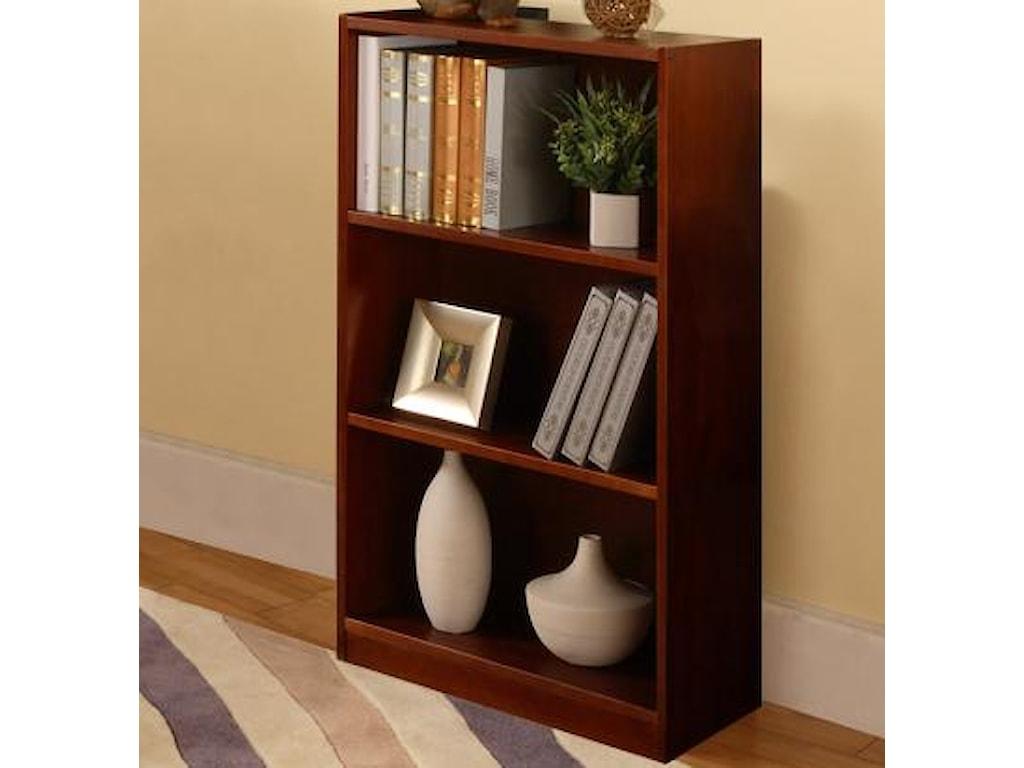 Discovery World Furniture MerlotBookshelf