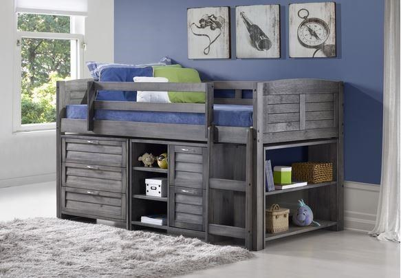 Exceptionnel Donco Trading Co HoldenHolden Twin Loft Bed Package