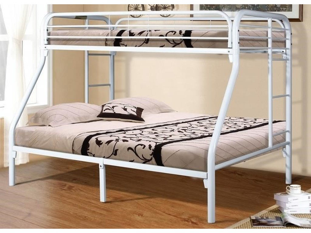 Donco Trading Co MarkieMarkie Twin/Full Bunkbed