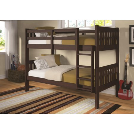 Mason Twin Bunk Bed