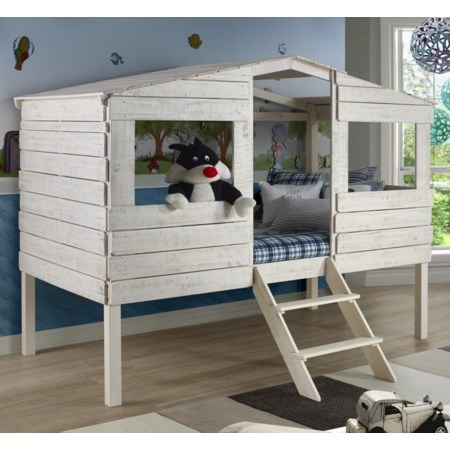 Honeydew Twin Tree House Bed