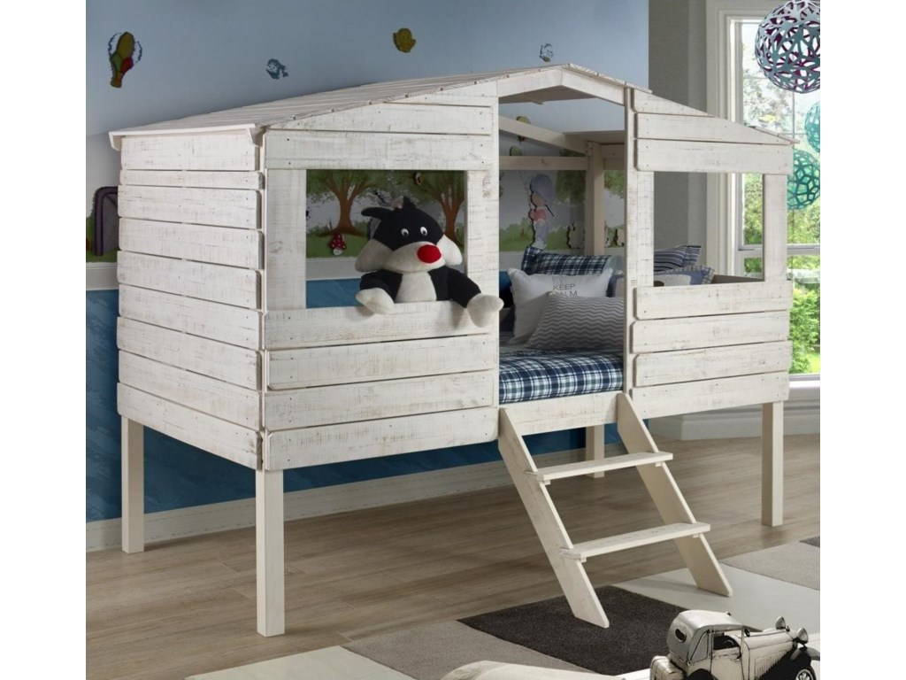 Donco Trading Co HoneydewHoneydew Twin Tree House Bed