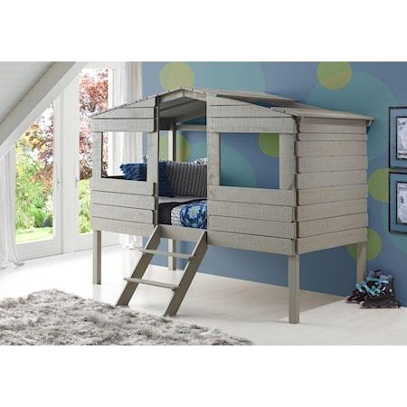 Honeydew Twin Loft Bed