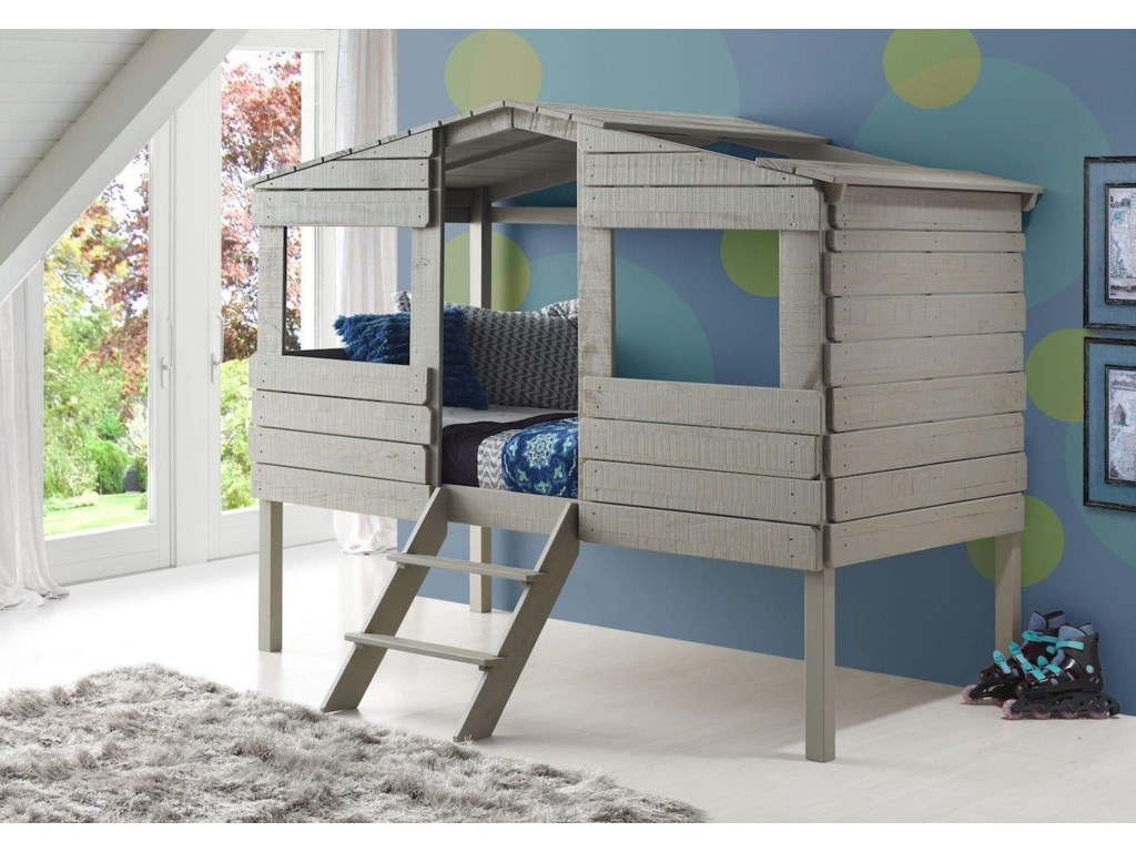 Donco Trading Co HoneydewHoneydew Twin Loft Bed