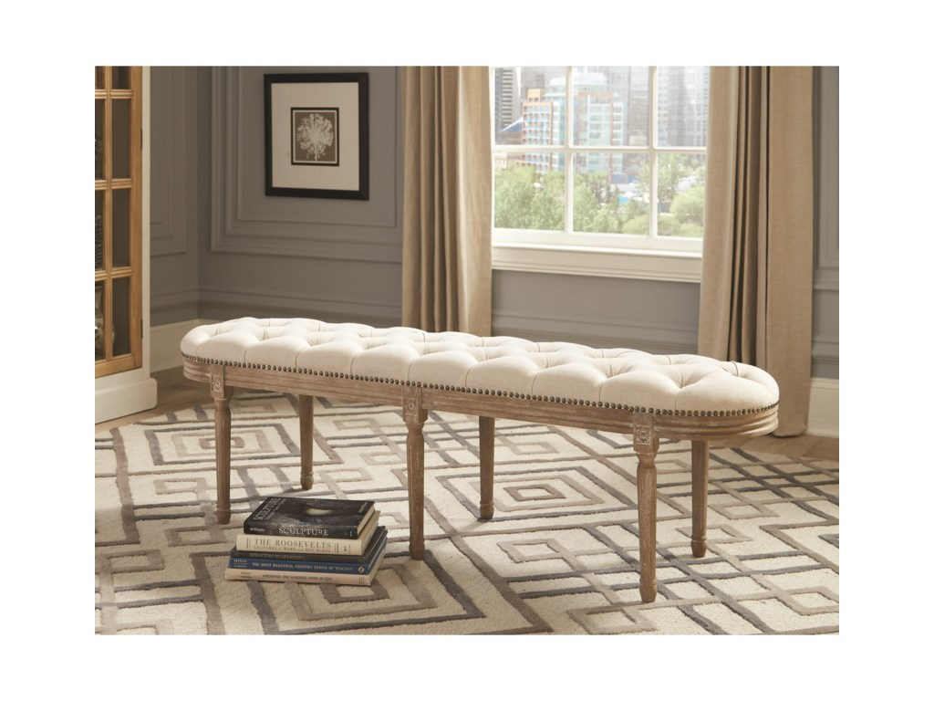 Donny Osmond Home Accent SeatingBench
