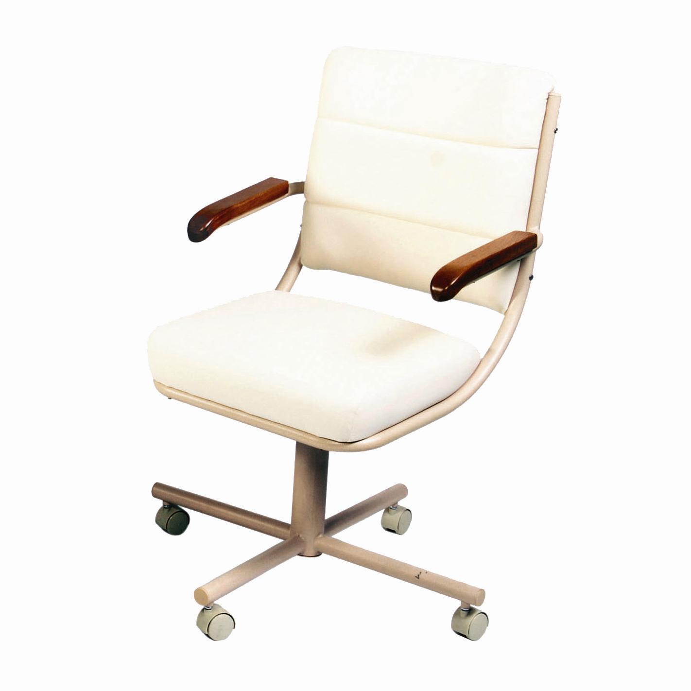 Beau Douglas Casual Living Caster Dinnette Upholstered Caster Dining Arm Chair