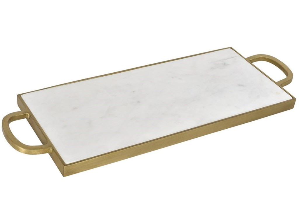 Dovetail Furniture AccessoriesMarble Tray