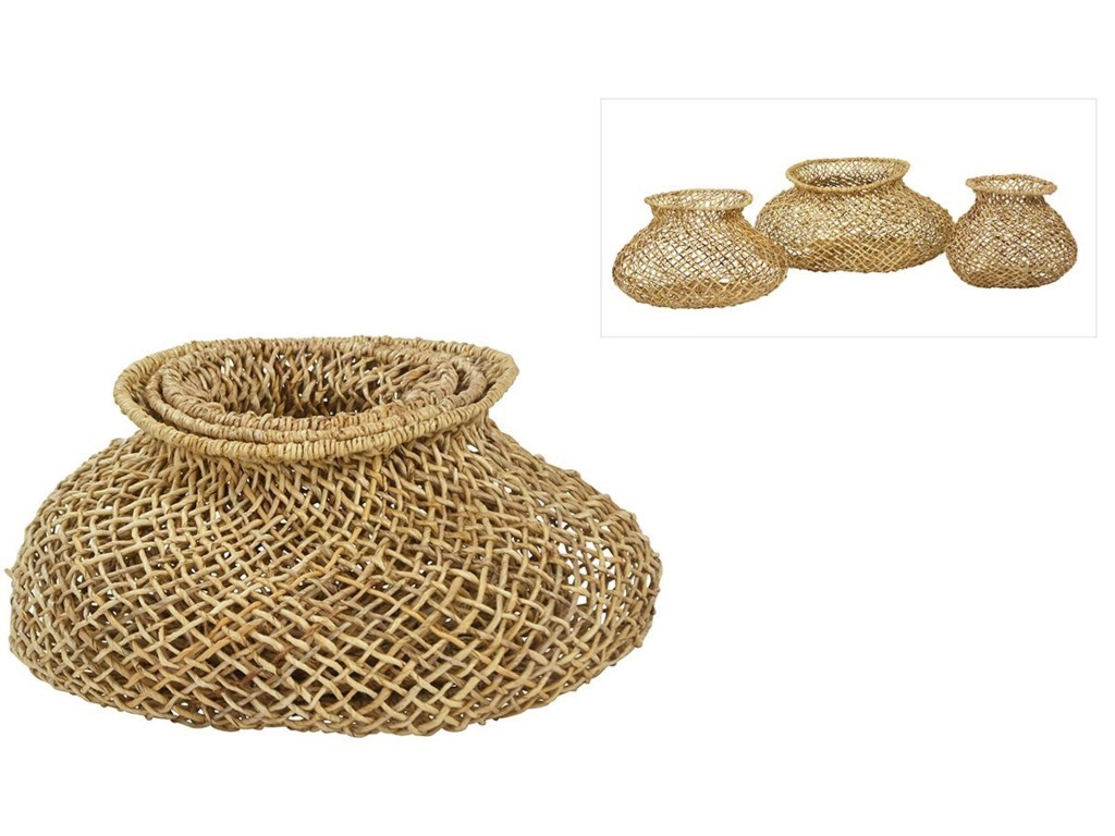 Dovetail Furniture AccessoriesBasket Set of 3