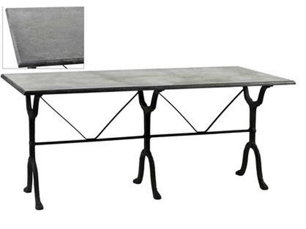 Dovetail Furniture ChaunceyDining Table