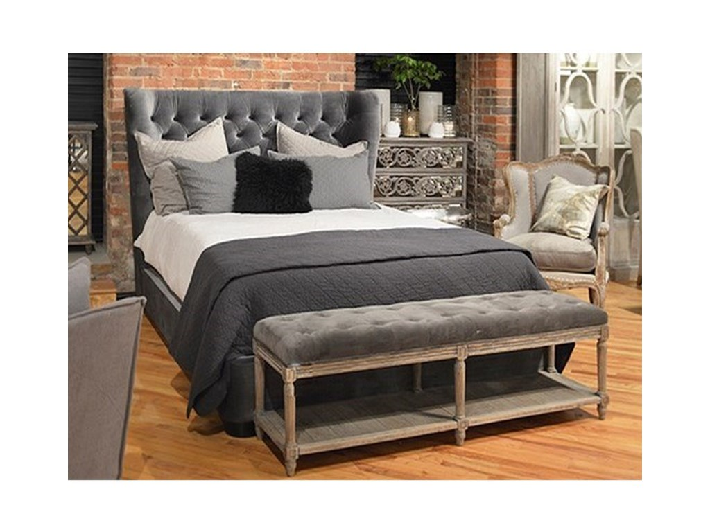 Dovetail Furniture ClintonClinton Queen Bed