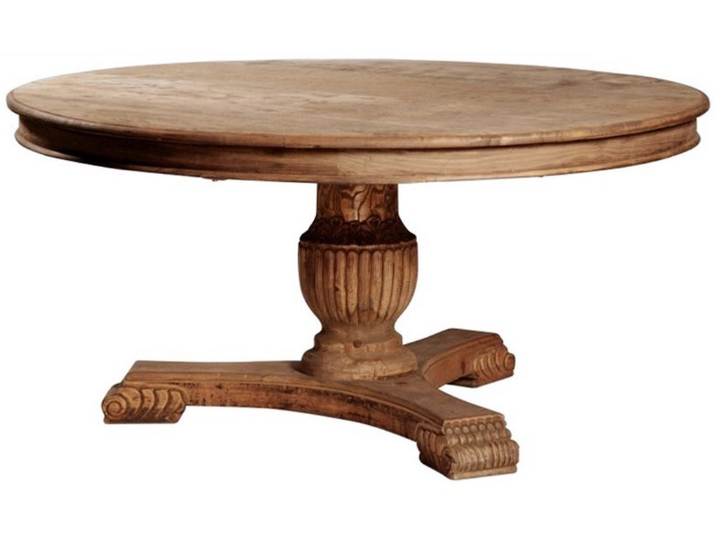 Dovetail Furniture Dining Dublin Round Table With