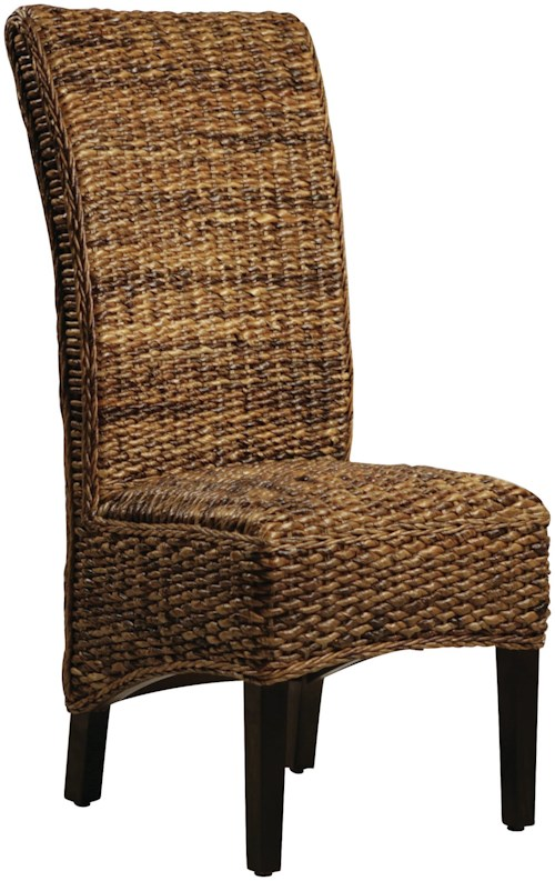 Dovetail Furniture Dovetail Dining Woven Side Chair